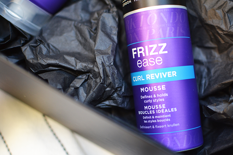 John Frieda Frizz Ease Dream Curls Range Review | Colours and Carousels - Scottish Lifestyle, Beauty and Fashion blog