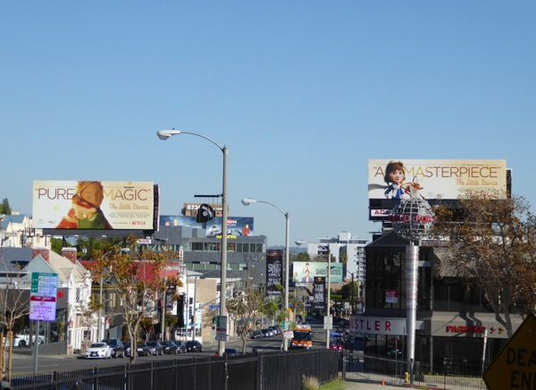 Little Prince For your consideration billboards Sunset Strip