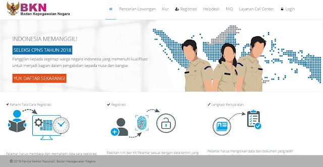 Kenapa Situs Portal Pendaftaran CPNS Sulit Diakses