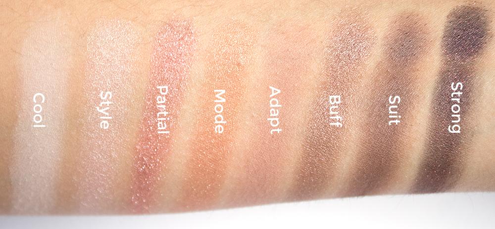 Makeup Revolution New-Trals vs. Neutrals Palette Swatches