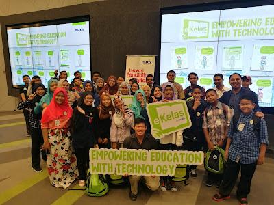 Program CSR Maxis untuk komuniti, iaitu Maxis i-kelas
