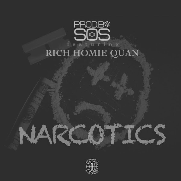 ProdBySOS - Narcotics (feat. Rich Homie Quan) - Single   Cover