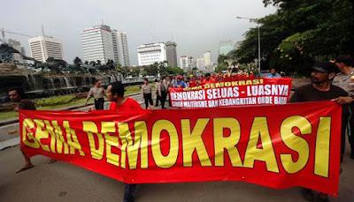 Press Release Gema Demokrasi; Penangkapan 106 Aktivis KNPB