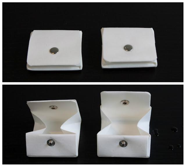 (實驗)紙製零錢包丟洗衣機 3