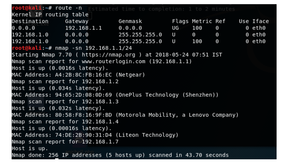 Port Scanning Using Nmap - Only CyberSecurity
