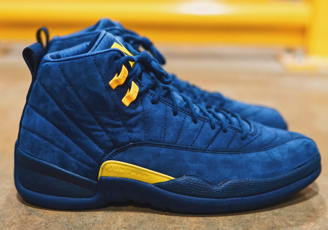 245c345832f5 Air Jordan 12  Michigan  PE