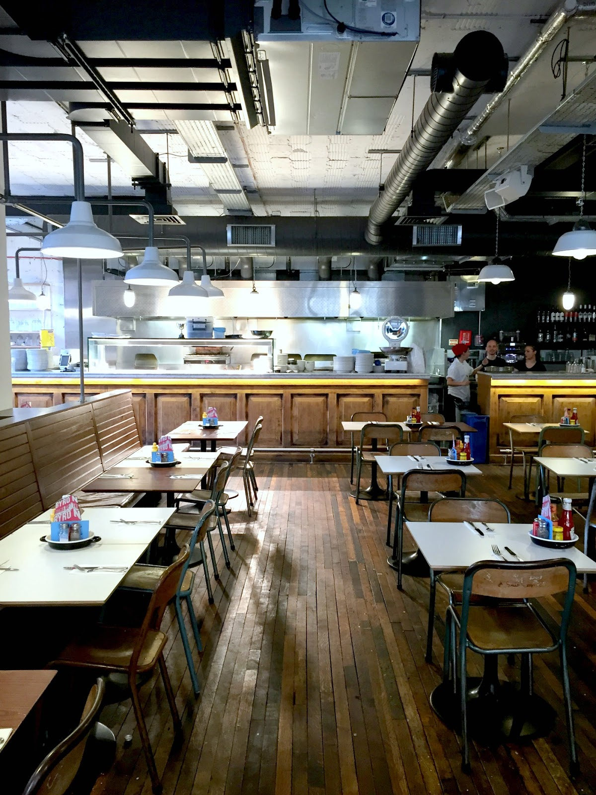 industrial interior inspiration at byron burger