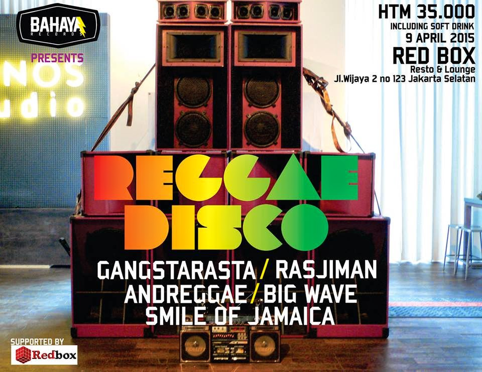 "Gangstarasta April Rilis Singel Baru ""Reggae Disco"""