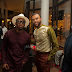 Photos of Jidenna hanging out at the Eko Hotel
