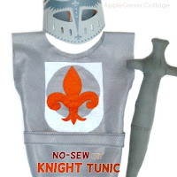 knight Halloween costume diy