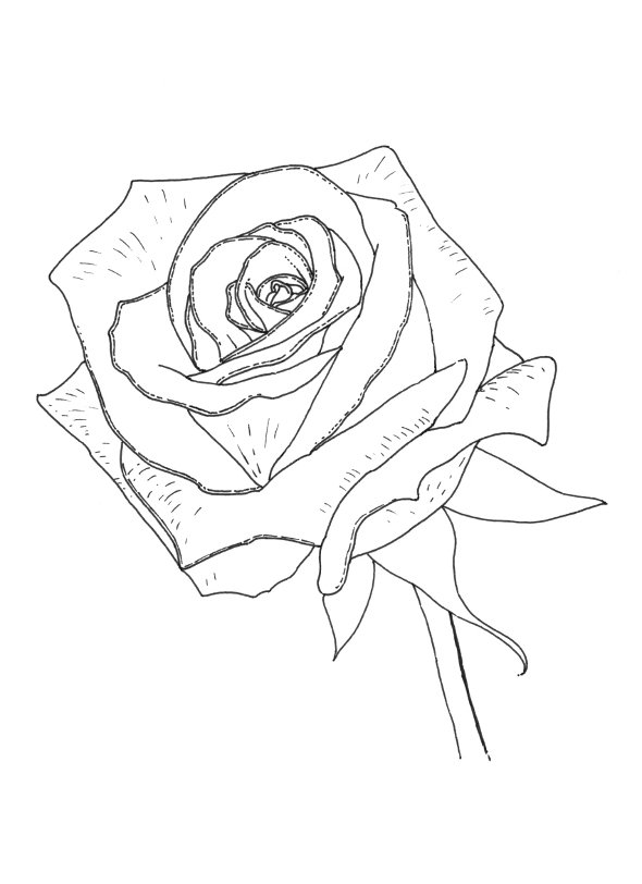Cross And Roses Coloring Pages Coloring Pages