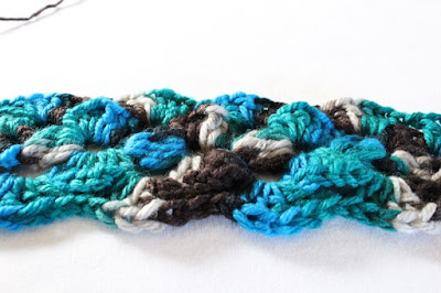 yarn, Loops & Threads, Impeccable, WIP, work in progress, scarf, opinion