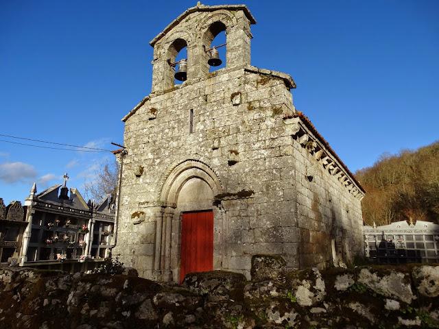 Iglesia de Lamas en Pena Corneira