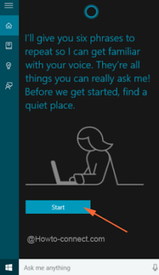 make Cortana Effectively learn your Voice on Windows 10
