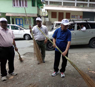 NHPC cleanliness drive