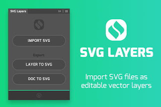 SVG Layers Panel for Adobe Photoshop