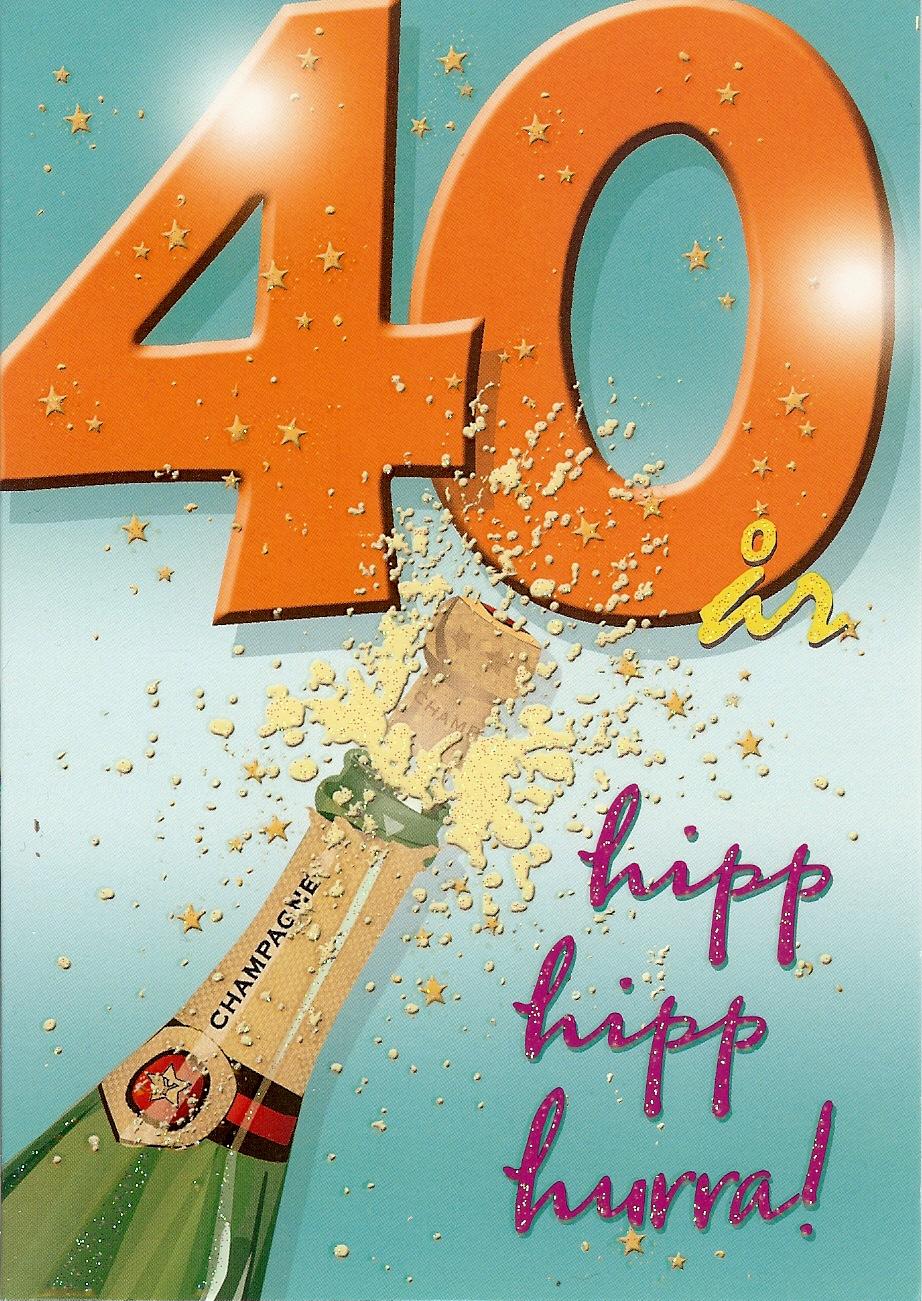 födelsedagskort 40 2000 talet i bild: Blandade prylar från 2014 födelsedagskort 40