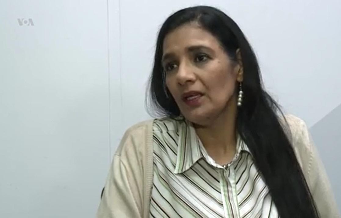 Zoilamérica es hija de la vicepresidenta de Nicaragua y esposa de Ortega, Rosario Murillo  / VOA