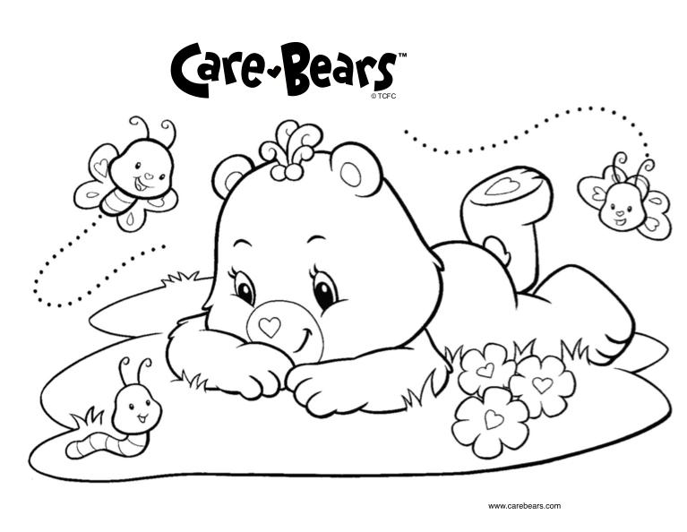 Desenhos Para Colorir E Imprimir: Desenhos Dos Ursinhos