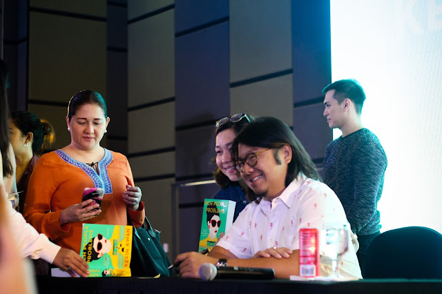 Kevin Kwan book signing event in Cebu City Philippines