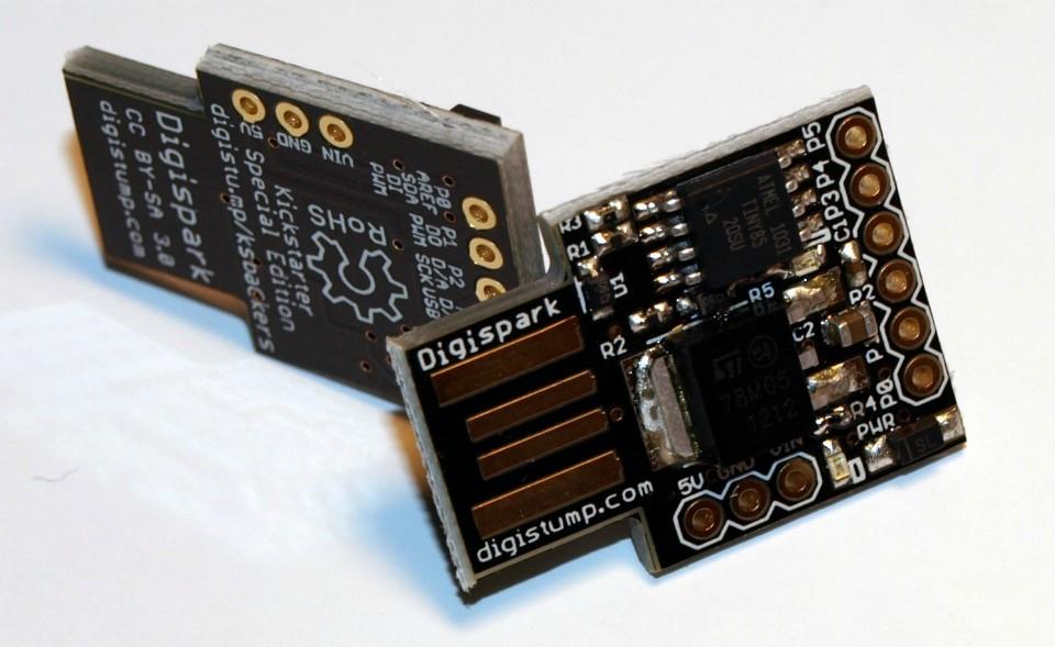 igispark - Placa compatível com Arduino e baseada no Attiny85