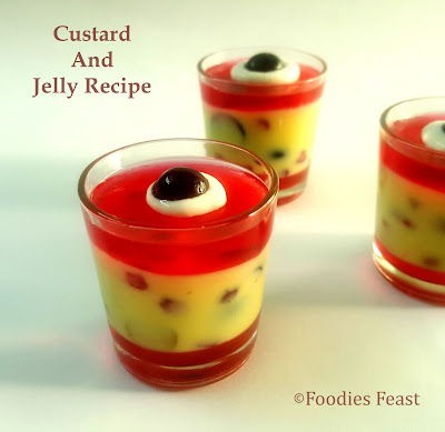 Custard Jelly Recipe