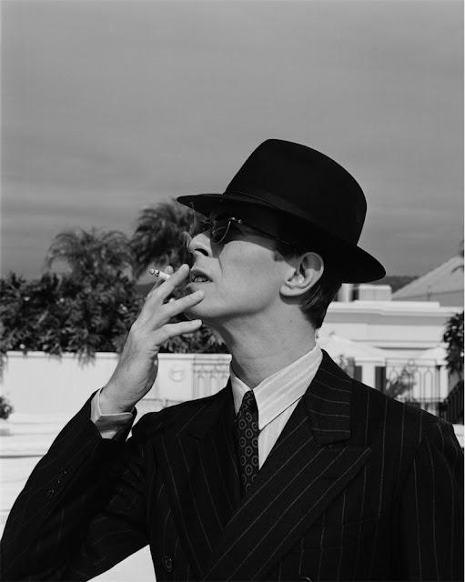 David Bowie, fotografia di Michel Haddi