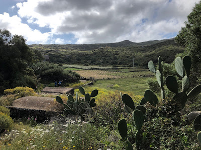 Views of Bugeber, Pantelleria.