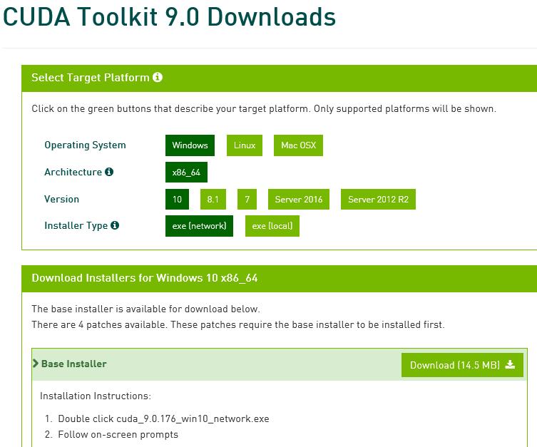 conda install cudnn 7.4.2