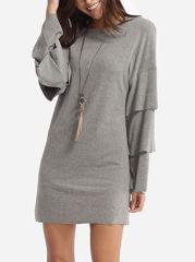 http://www.fashionmia.com/Products/plain-mandarin-sleeve-designed-crew-neck-shift-dress-154876.html