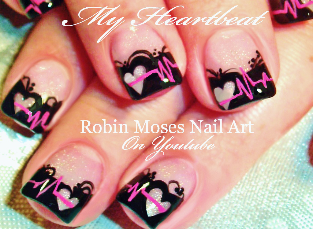 Nail Art by Robin Moses: Valentine\'s Day Nail Art \