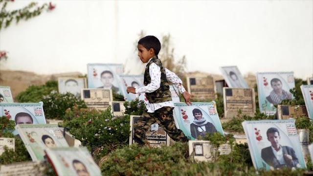 Ataques saudíes dejaron más de 200 niños yemeníes muertos en 2017