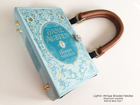Jane Austen Book Purse by Novel Creations on Etsy review by Tomes and Tequila blog