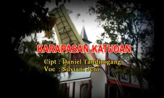 Download Lagu Toraja Karapasan Katuoan (Silviani Jeni) Ciptaan Daniel Tandirogang