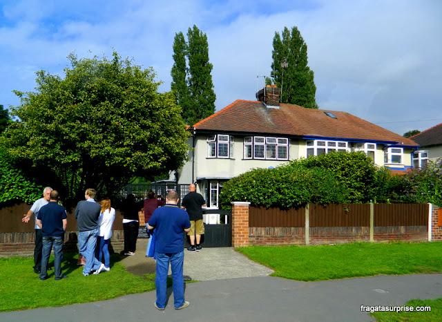 Mendips, casa de John Lennon, Liverpool, Inglaterra