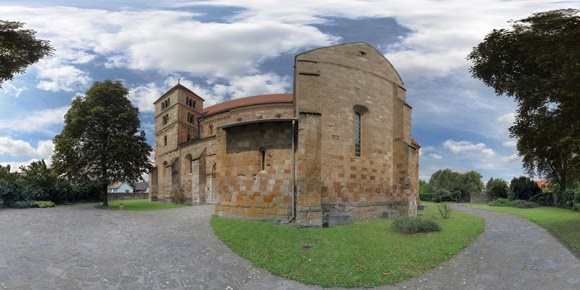 spherical panoramas: Ócsai Református templom