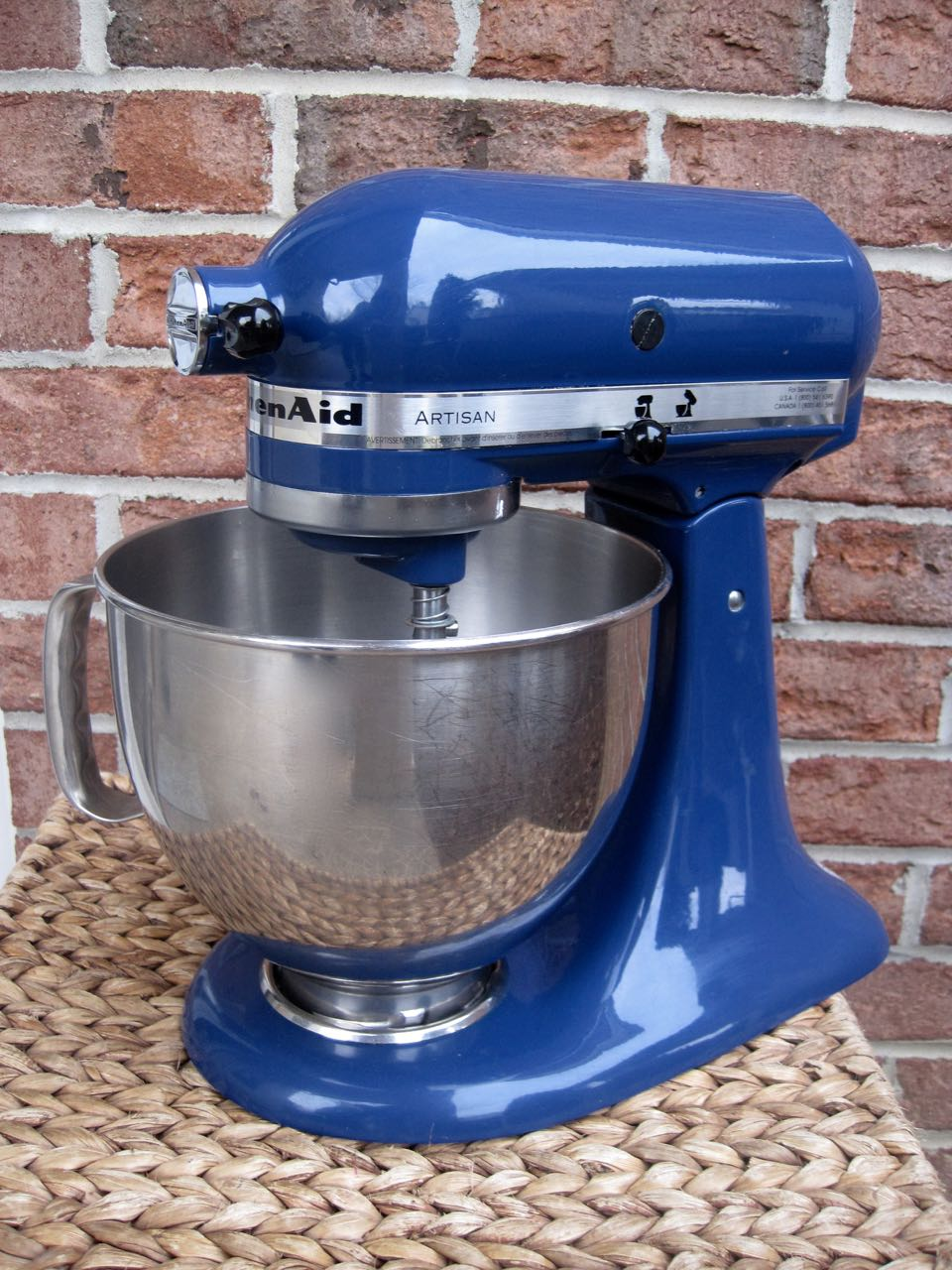 The Project Lady Spray Paint Your Kitchenaid Mixer