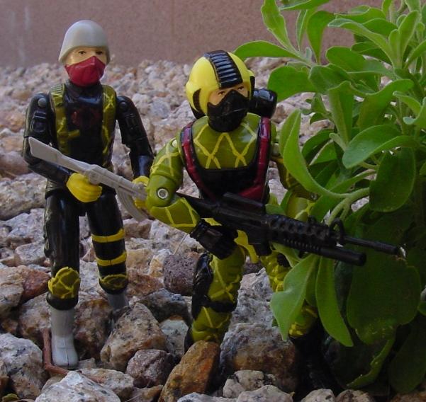 1989 Python Patrol Copperhead, Python Officer, Trooper