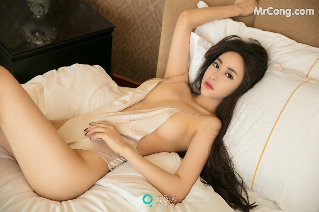 Image QingDouKe-2017-08-03-Mu-Fei-Fei-MrCong.com-047 in post QingDouKe 2017-08-03: Người mẫu Mu Fei Fei (穆菲菲) (53 ảnh)