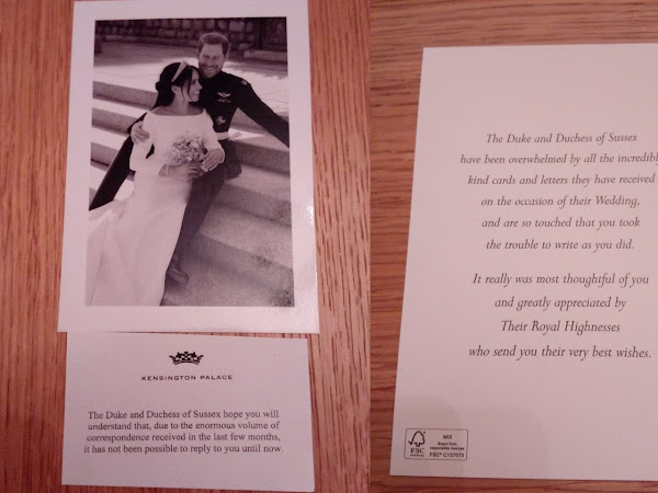 Odpowiedź od księcia i księżnej Sussex!