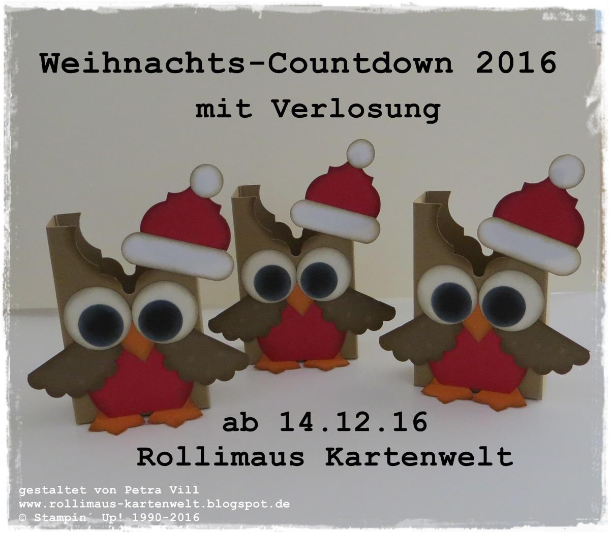 rollimaus kartenwelt weihnachts countdown 10 tage