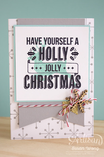 Jolly Christmas Card ~ Susan Wong