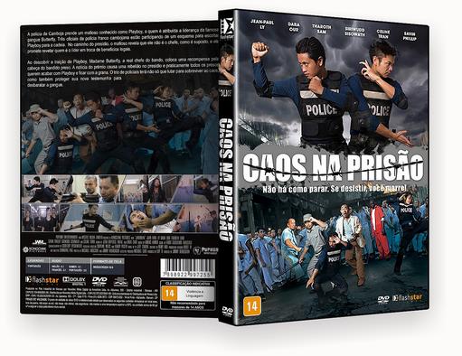 DVD-R Caos na Prisão – AUTORADO