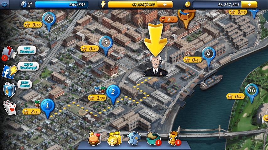Android Games BUZZ: Criminals case
