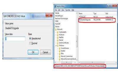 Cara Menghilangkan Pesan Update Window 10