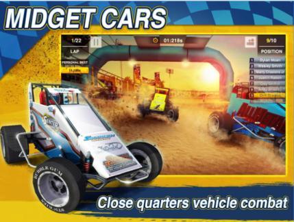 Game Balap Mobil Offline Dirt Trackin Sprint Cars MOD Apk