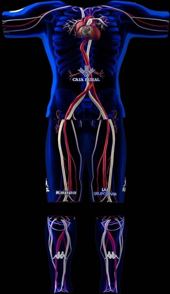 Zamora lança camisa inspirada no corpo humano - Show de Camisas fc6f5a234d683