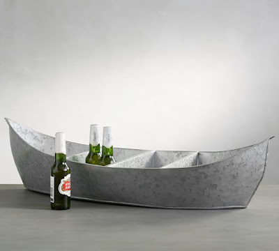 Galvanized Party Boat Cooler