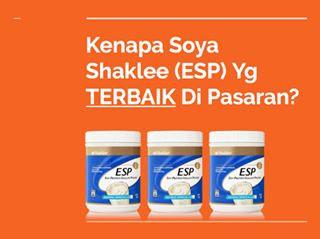 Apakah Perbezaan ESP Shaklee Berbanding Produk Soya Lain Di Pasaran?