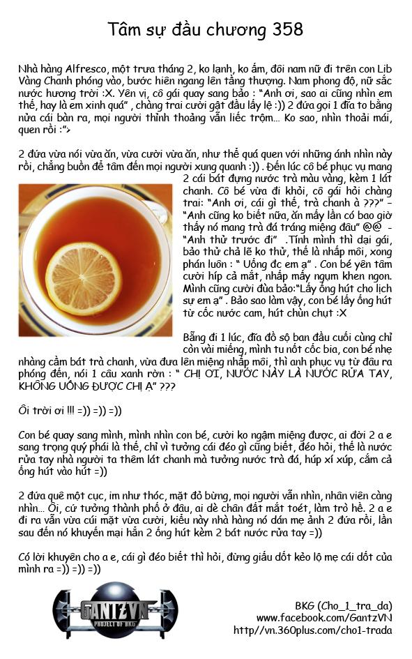 Gantz chap 358 trang 1